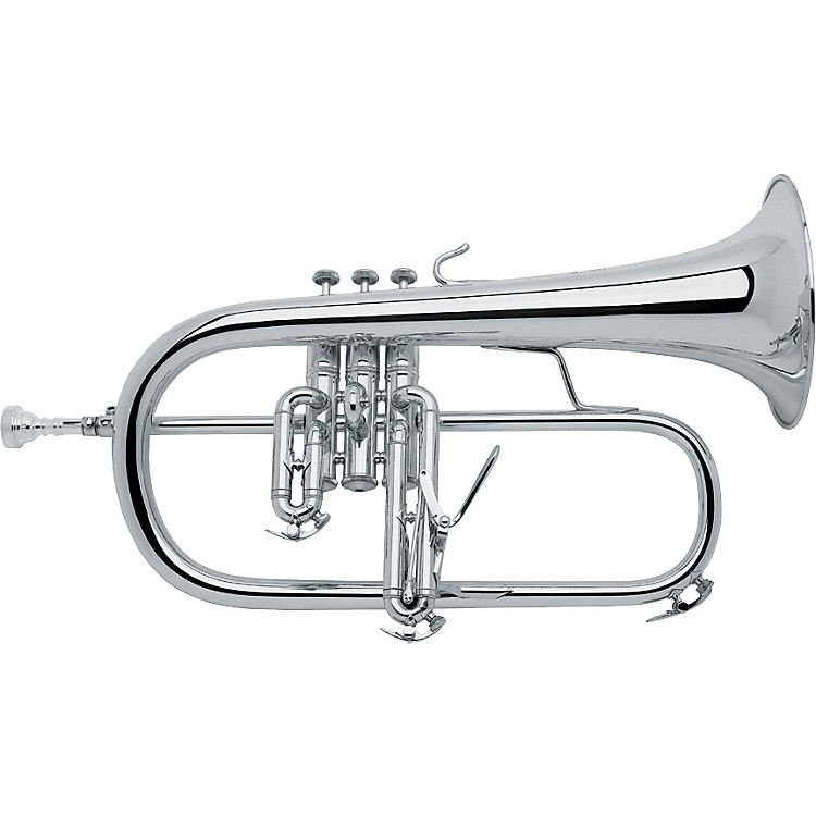 Bach183 Stradivarius Series Bb Flugelhorn183S Silver