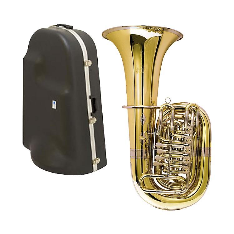 Miraphone188-5U Series 5-Valve CC Tuba with Hard Case