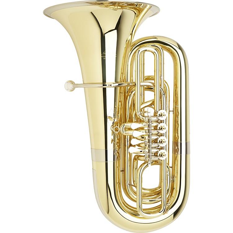 Miraphone191 Series 5/4 BBb TubaS191-4V Yellow Brass 4 Valves Standard Slides