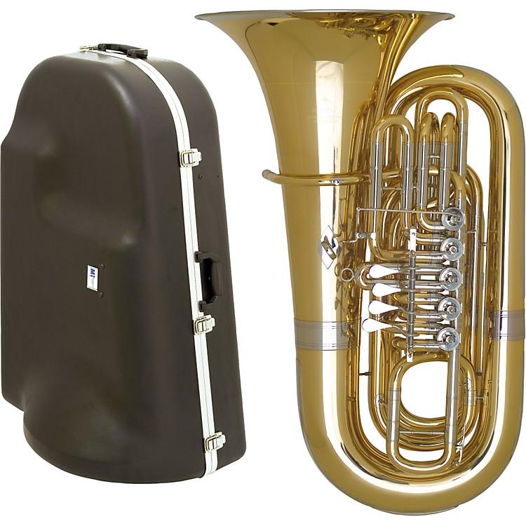 Miraphone191 Series 5-Valve BBb Tuba with Hard Case