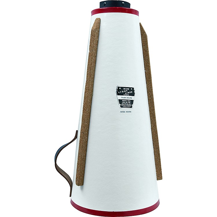 Humes & Berg193 Stonelined Straight BBb Tuba Mute