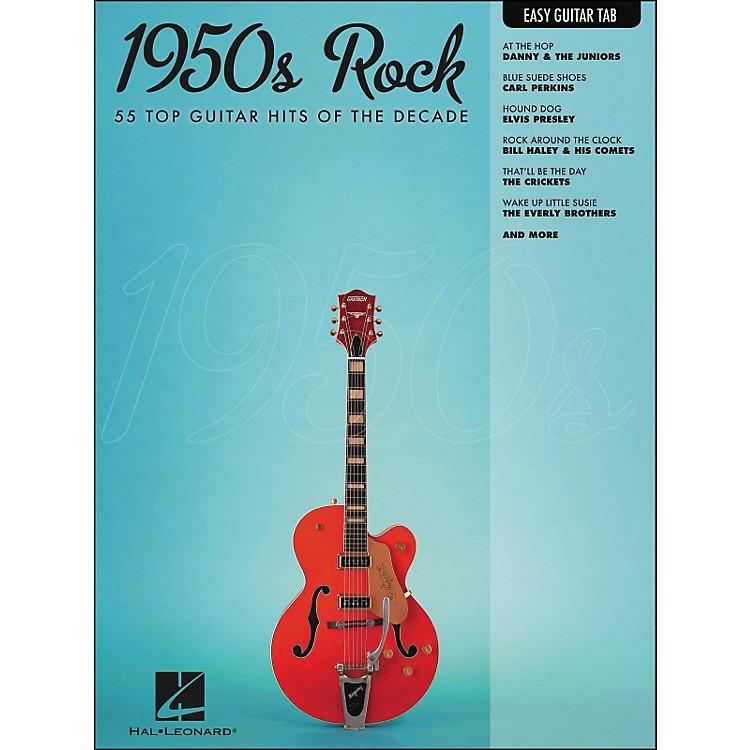 Hal Leonard1950s Rock Easy Guitar Tab