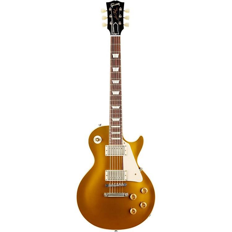 Gibson Custom1957 Les Paul Standard Historic Reissue Goldtop VOSAntique Gold