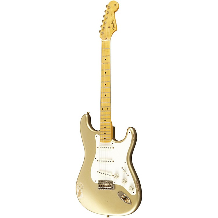 Fender Custom Shop1957 Stratocaster Relic Gold Hardware Electric Guitar Master Built by Dale WilsonGold