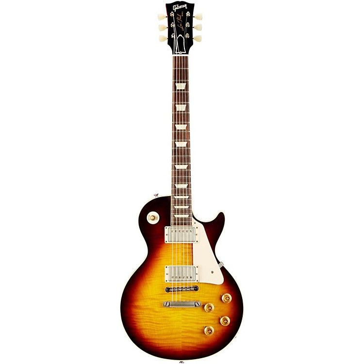 Gibson Custom1959 Les Paul Standard Historic Reissue VOSFaded Tobacco