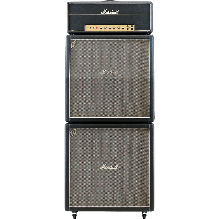 Marshall1959HW, 1960AHW, and 1960BHW Tube Guitar Full Stack