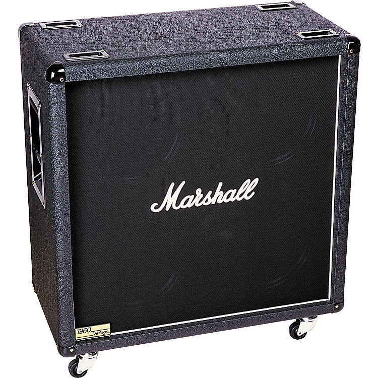 Marshall 1960AV or 1960BV 280W 4x12 Guitar Extension Cabinet Straight