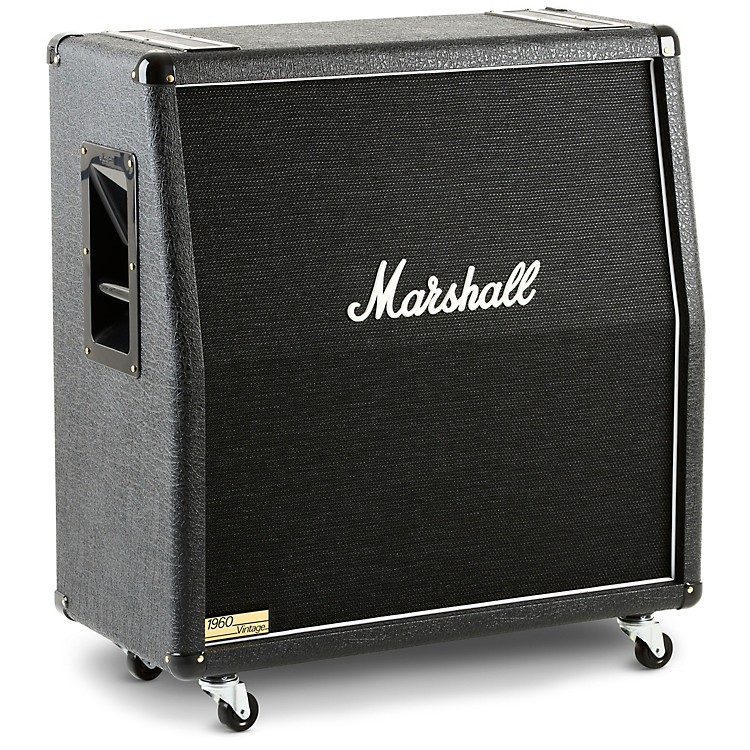 Marshall 1960V 280W 4x12 Guitar Extension Cabinet Angled