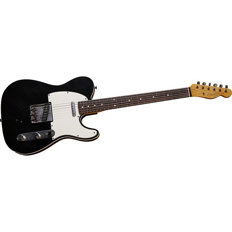 Fender Custom Shop 1961 Relic Telecaster Custom Electric Guitar Faded 3 Color Sunburst Rosewood Fretboard