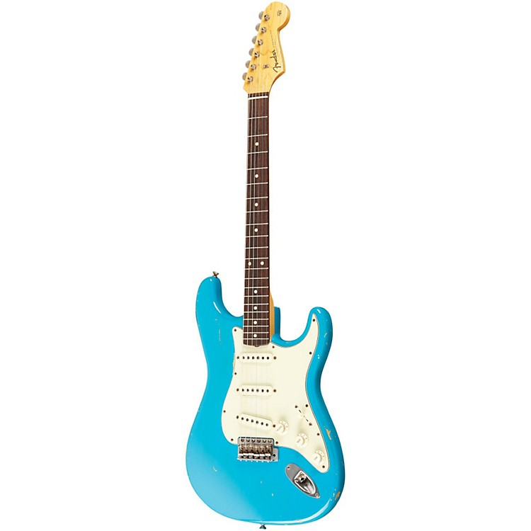 Fender Custom Shop 1961 Stratocaster Relic Electric Guitar Master Built by Dale Wilson Taos Turquoise