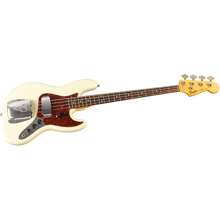 Fender Custom Shop1964 Jazz Bass Relic GuitarVintage White