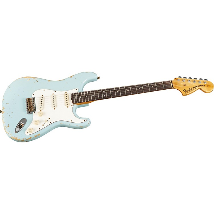 Fender Custom Shop1968 Heavy Relic Stratocaster Electric GuitarDakota Red