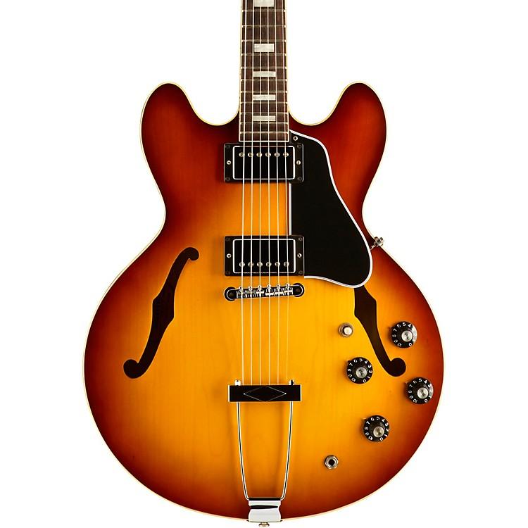 gibson 1969 es 335 semi hollow body electric guitar aged sunburst music123. Black Bedroom Furniture Sets. Home Design Ideas
