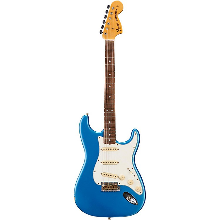 Fender Custom Shop 1970 Relic Stratocaster Electric Guitar Lake Placid Blue Rosewood