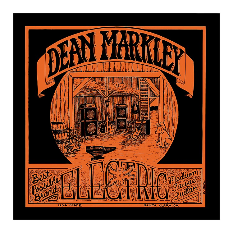 Dean Markley 1975 Vintage Electric Reissue Medium Electric Guitar Strings