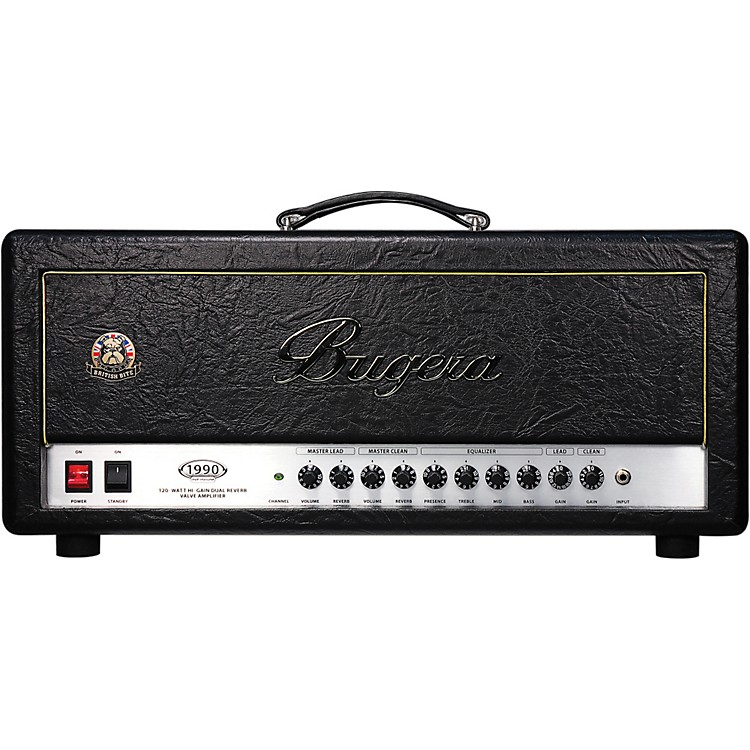 Bugera 1990 Infinium 120W British Bite Tube Guitar Amp Head
