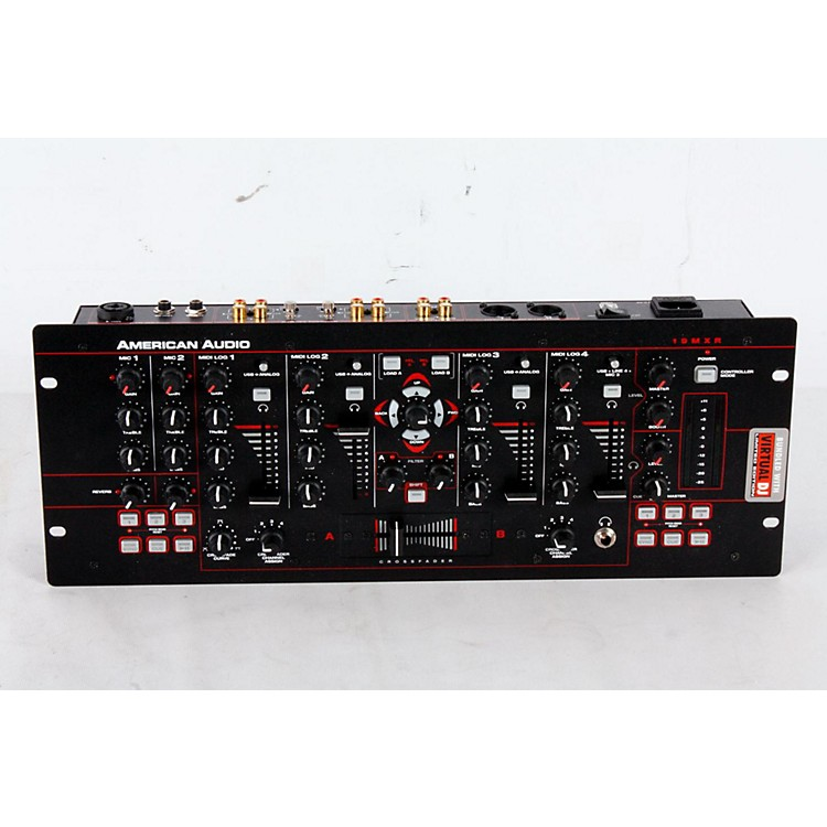 American Audio 19MXR 4-Channel MIDILOG DJ Mixer Regular 888365174723