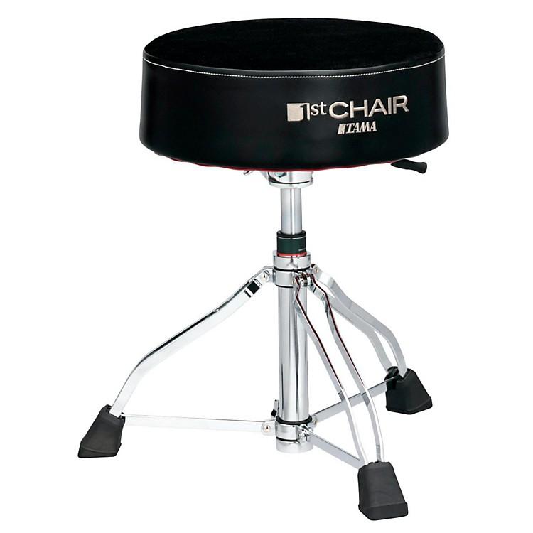 Tama1st Chair Round Rider XL Drum Throne Hydraulix Cloth TopBlack