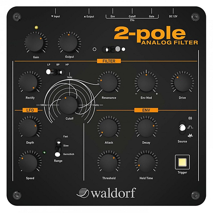 Waldorf 2-Pole Analog Filter Black