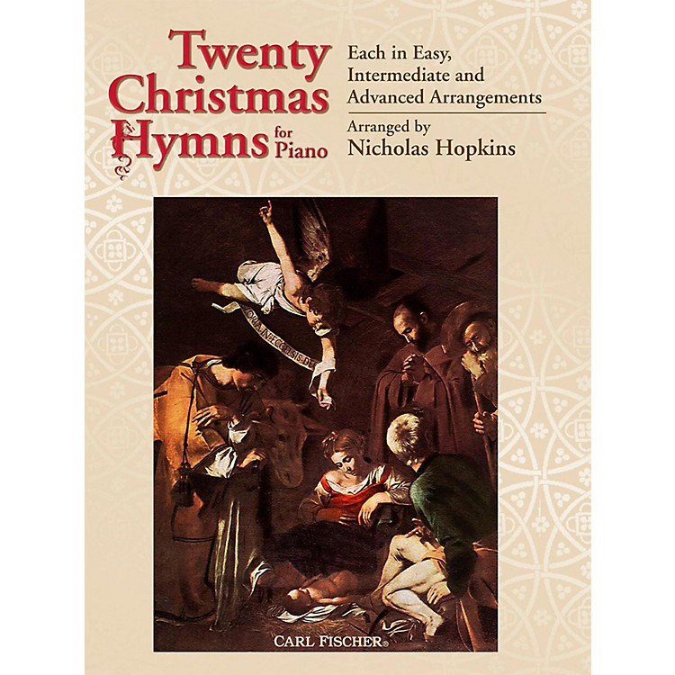 Carl Fischer20 Christmas Hymns for Piano
