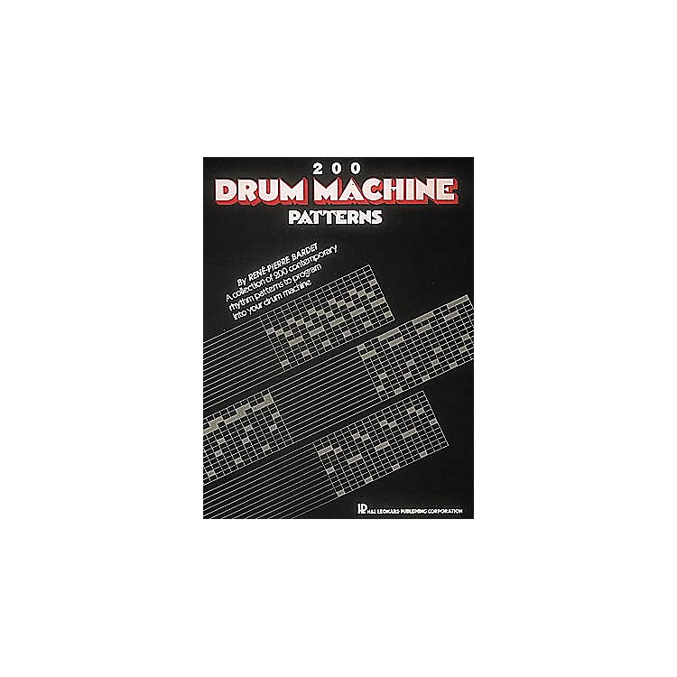 Hal Leonard 200 Drum Machine Patterns Book