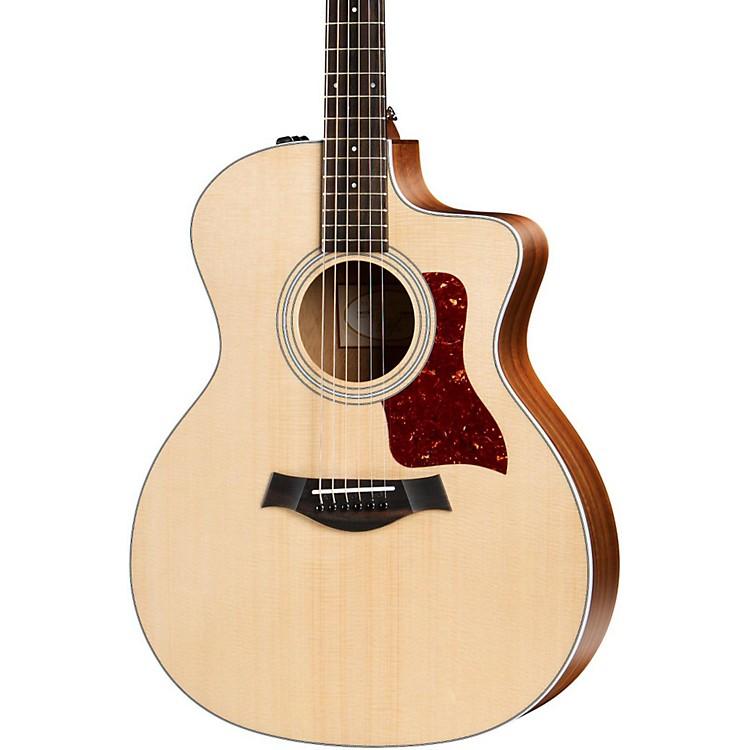 taylor 200 series 2017 214ce grand auditorium acoustic electric guitar natural music123. Black Bedroom Furniture Sets. Home Design Ideas