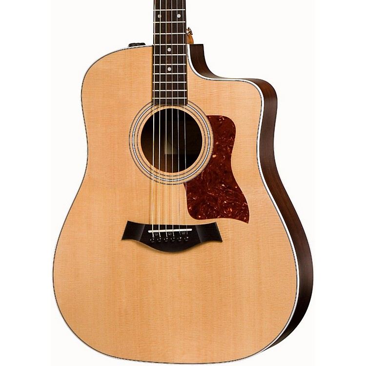 Taylor 200 Series 210ce Dreadnought Acoustic-Electric Guitar Natural