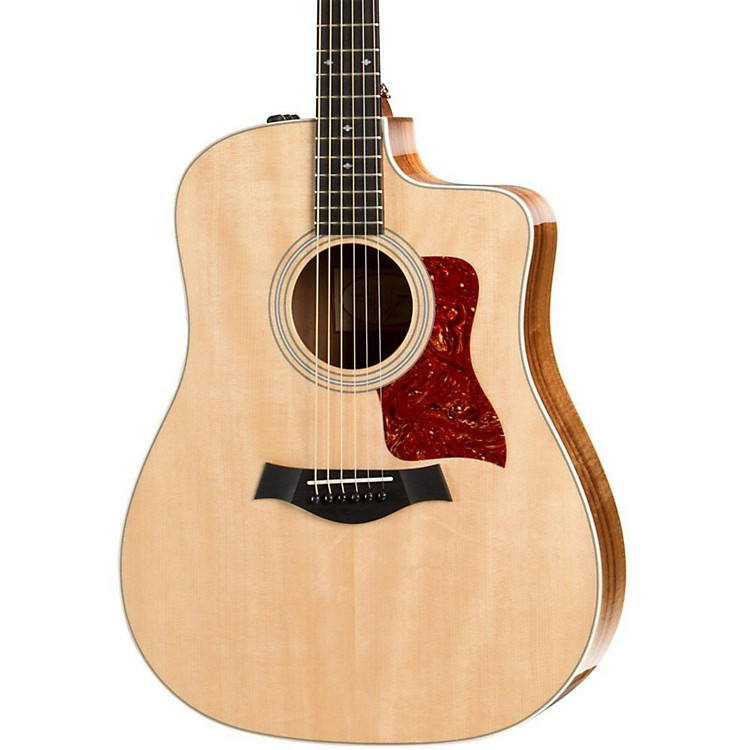 Taylor200 Series 210ce Koa Deluxe Dreadnought Acoustic-Electric GuitarNatural