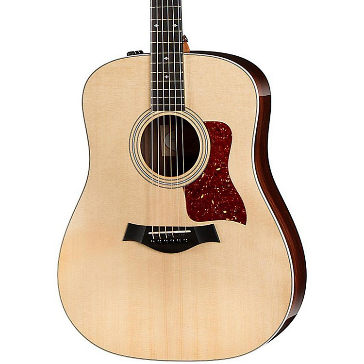 Taylor200 Series 210e Deluxe Dreadnought Acoustic-Electric GuitarNatural