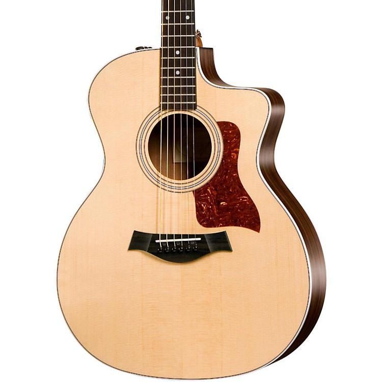 Taylor200 Series 214ce Grand Auditorium Acoustic-Electric GuitarNatural