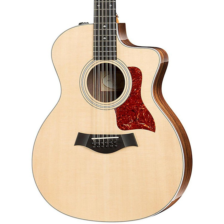 Taylor 200 Series 254ce Deluxe Grand Auditorium 12 String Acoustic Guitar Natural