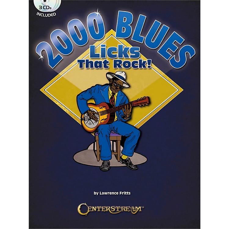 Centerstream Publishing2000 Blues Licks That Rock Book/3CDs