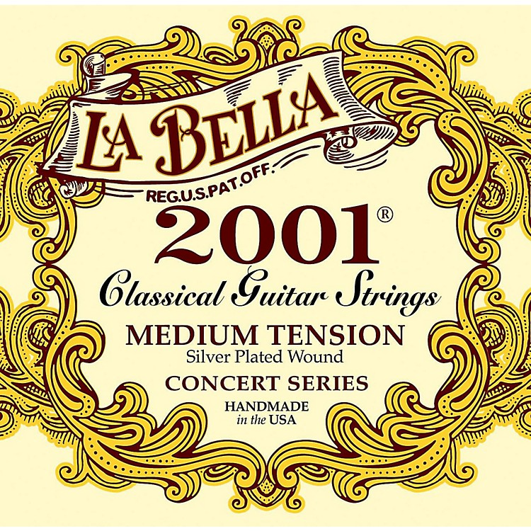 LaBella2001 Medium Tension Classical Guitar Strings