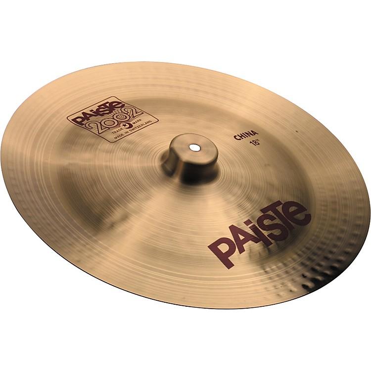 Paiste2002 China Cymbal