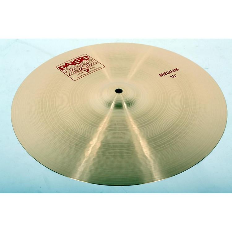 Paiste2002 Medium Crash Cymbal18 In.888365812489