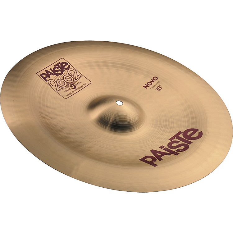 Paiste 2002 Nova China Cymbal  18 in.