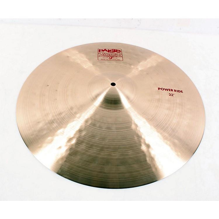 Paiste2002 Power Ride Cymbal22