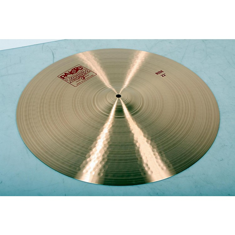 Paiste 2002 Ride Cymbal 22 in. 888365843797