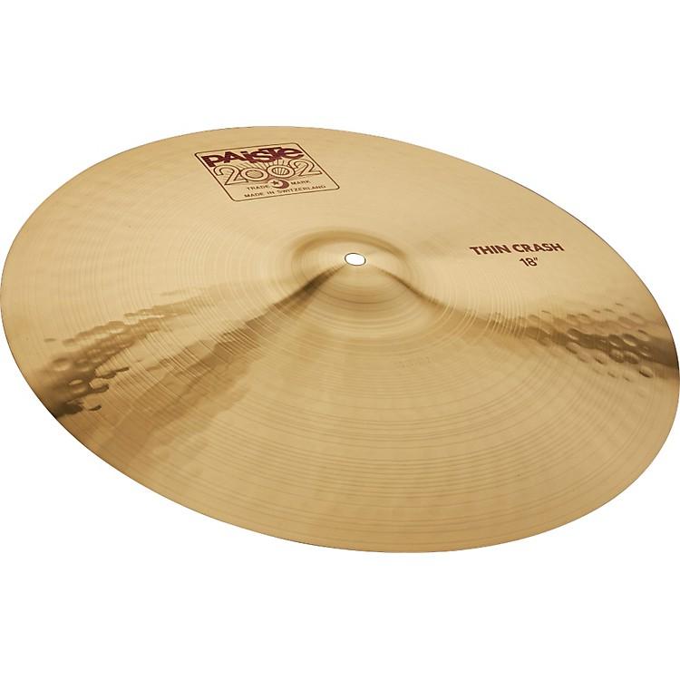 Paiste2002 Series Thin Crash Cymbal18 in.