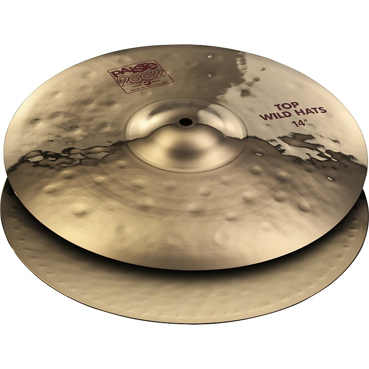 Paiste 2002 Wild Hi-Hat Cymbal Pair 14 in.