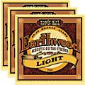 Ernie Ball 2004 Earthwood 80/20 Bronze Light Acoustic Strings (3-Pack)