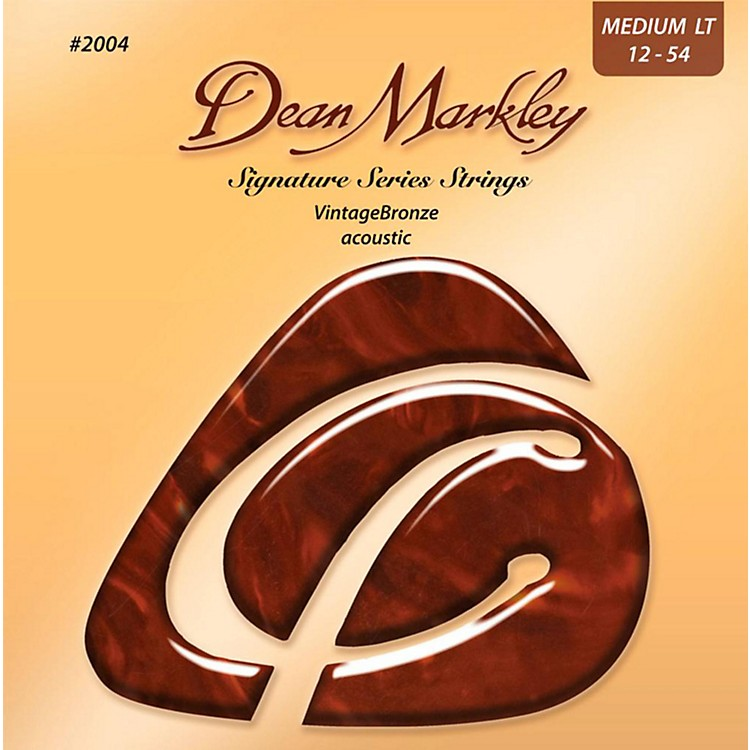 Dean Markley2004 Vintage Bronze, Medium Light, 12-54