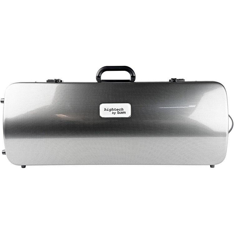 Bam2005XL Hightech Case for 2 ViolinsSilver Carbon