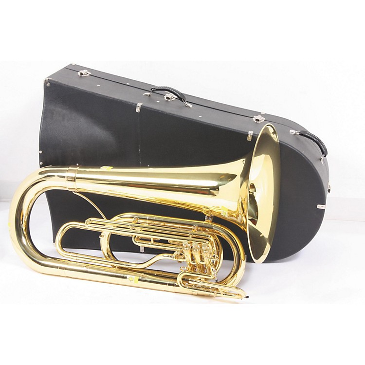 Kanstul 201 Series 3-Valve 4/4 Marching BBb Tuba 201C-1 Convertible Lacquer 889406495906