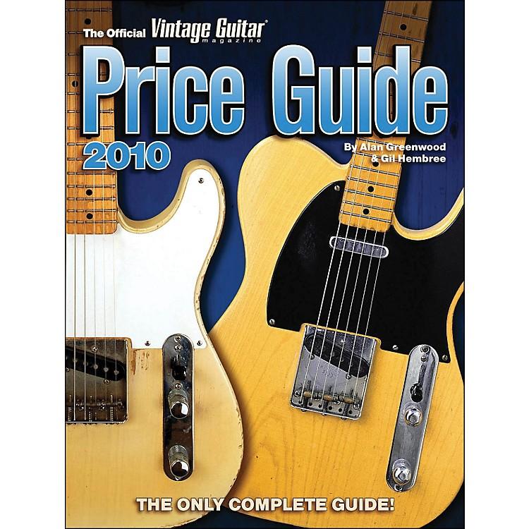 Hal Leonard2010 Official Vintage Guitar Magazine Price Guide