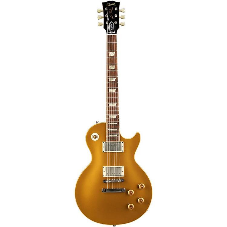 Gibson Custom 2011 Lee Roy Parnell Signature 57 Goldtop Electric Guitar Metallic Gold