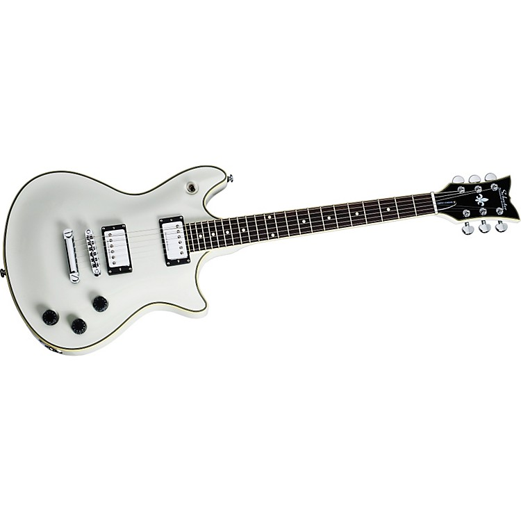 Schecter Guitar Research 2011 Tempest Standard Electric Guitar Vintage White