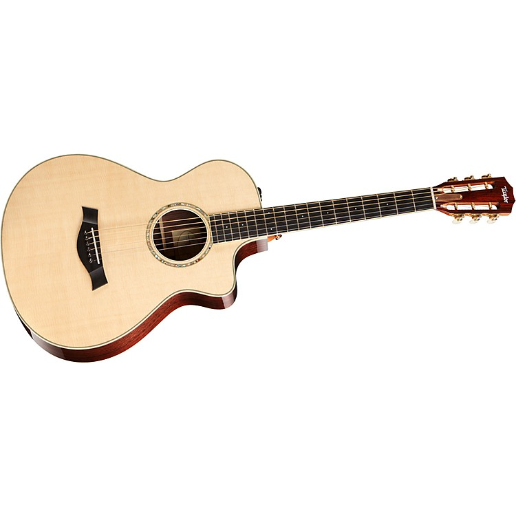 Taylor 2012 12-FRETce-L Rosewood/Spruce Left-Handed Acoustic-Electric Guitar