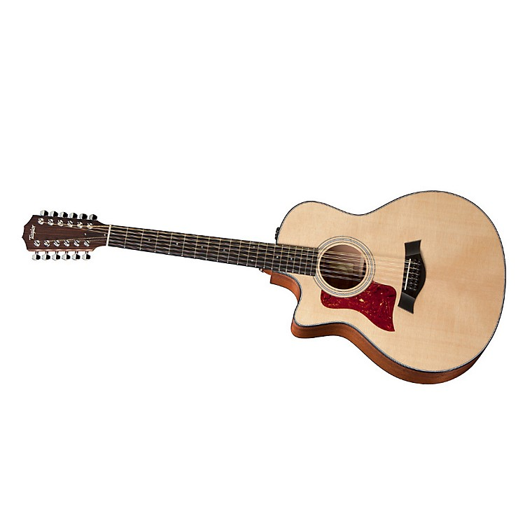 Taylor 2012 356ce-L Sapele/Spruce Grand Symphony 12-String Left-Handed Acoustic-Electric Guitar Natural