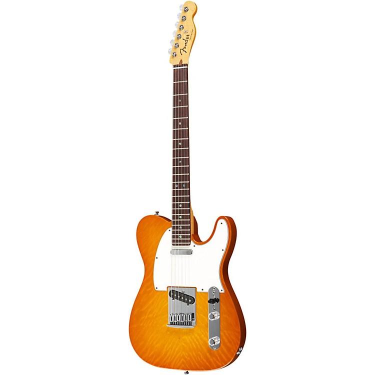 Fender Custom Shop2012 Custom Deluxe Telecaster Electric GuitarFaded Honey BurstRosewood Fretboard